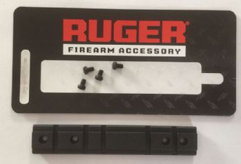Ruger Weaver Base Rail Scope Mount Adapter for Ruger 10/22 NSBATB matte black